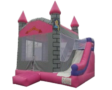 Pink & Grey Princess Castle Day