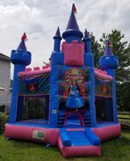 Princess Bounce Blue and Pink