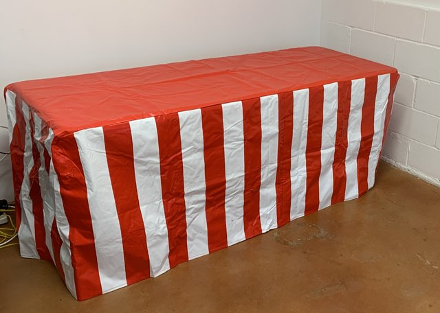 Carnival Style Table Cover (table not included)