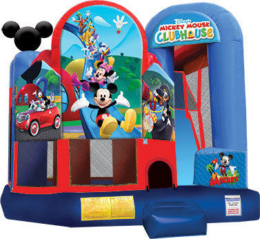 Mickey Bounce House with Slide