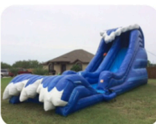 20ft Wave Water or Dry Slide