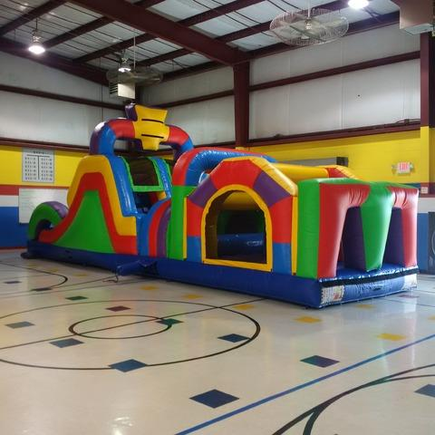 Wilder Wacky Obstacle Course
