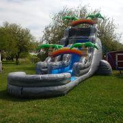 22ft Mount Rock Water or Dry Slide
