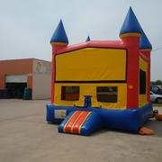 Bouncer Castle with Basketball Hoop