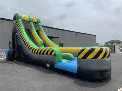 35ft Long Green River Water Slide