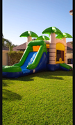 Tropical Moon Jump with Slide (Wet or Dry)