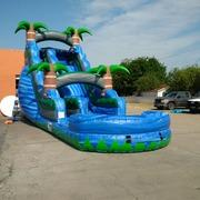 20ft Blue Rage Water Slide