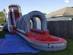 60ft Water Slide with Slip & Slide