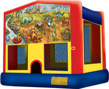 Dino Party Fun Bounce House