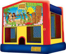 Luau Fun Bounce House