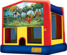 Soccer Fun Bounce House