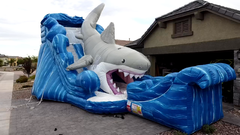 22ft Shark Attack Slide