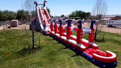 37FT PATRIOTIC SLIDE
