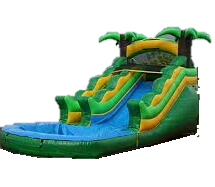 13 Ft. Tropical Jr. Water Slide