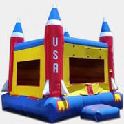 Rocket Launch Bounce House
