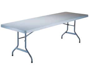 6' Rectangle Tables White
