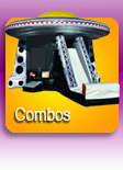 Combo Bouncer Rental Button