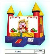 Strawberry ShortCake Castle