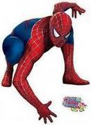 Spider-Man Pinata w/Candy/rope/buster