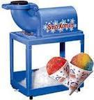 Snow Cone Machine (with supplies)