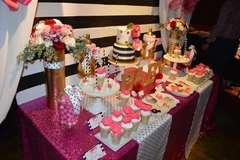 Dessert & Candy Buffet Tables