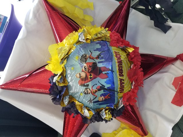 Incredibles 2 Star  Pinata