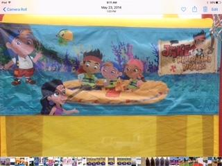 Jake and The Neverland Pirates Banner