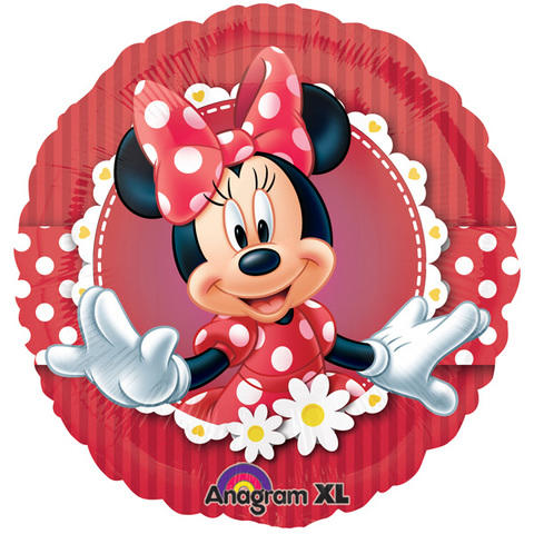 Minnie Mouse Red  Mylar Balloon