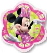 Minnie Mouse Pink   Mylar Balloon