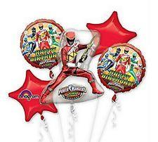 Power Rangers  Mylar Balloon Bouquet