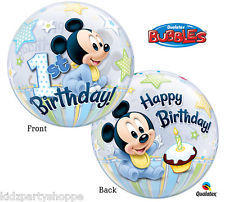 Baby Mickey   Clear Bubble Balloon