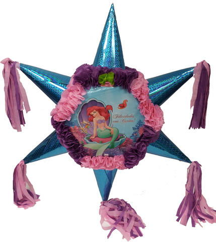 The Little Mermaid  Star Pinata