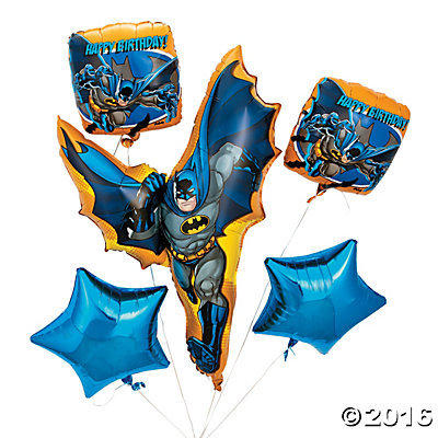 Batman  Mylar Balloon Bouquet