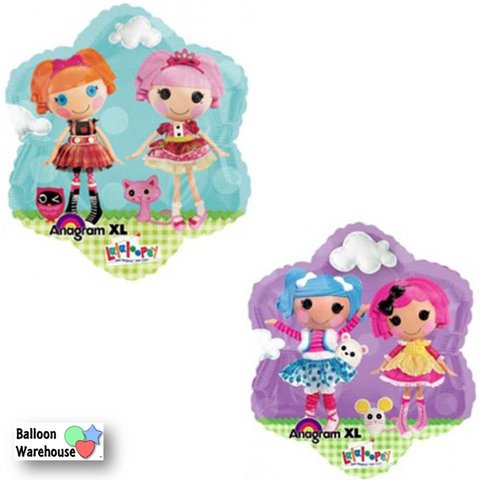 Lalaloopsy Birthday Mylar Balloon