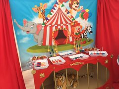 Circus  Themed Dessert Bar