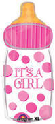 its a girl bottle jumbo mylar