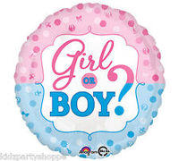 Boy or girl mylar balloon