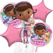 Doc McStuffins Mylar Balloon Bouquet