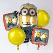 Minion Mylar Balloon Bouquet