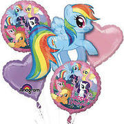My Little Pony  Mylar Balloon Bouquet