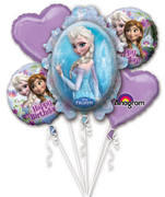 Frozen Mylar Balloon Bouquet