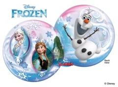 Frozen Clear Bubble Balloon