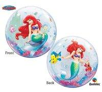 The Little Mermaid  Clear Bubble Balloon