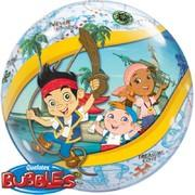 Jake & the Neverland Pirates  Clear Bubble Balloon