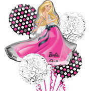 Barbie  Mylar Balloon Bouquet