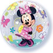 Minnie Mouse  Clear Bubble Balloon