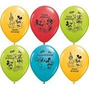 Mickey Mouse  Latex Balloons