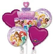 Disney Princess Mylar Balloon Bouquet