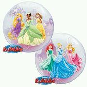 Disney Princess  Clear Bubble Balloon