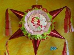 Strawberry Shortcake   Star Pinata